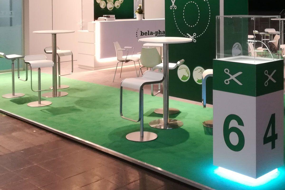 Exhibition stand bela-pharm - seating