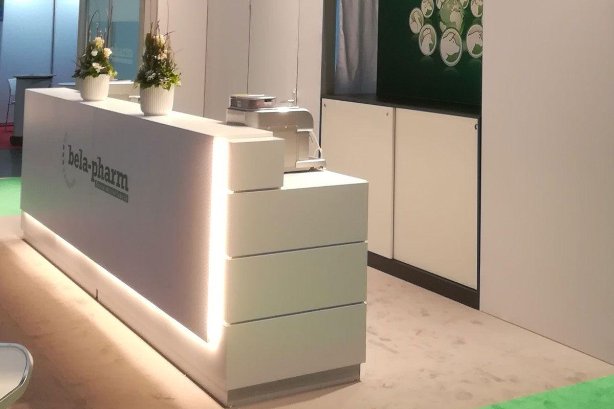 Exhibition stand bela-pharm - Exhibition counter