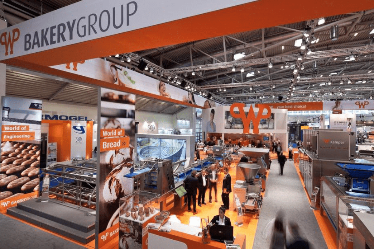 Boot construction RocketExpo iba Munich for Werner and Pfleiderer