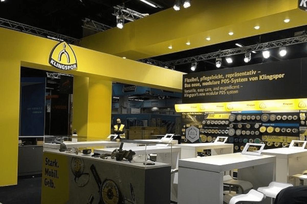 Messedesign Eisenwarenmesse Köln für Klingspor