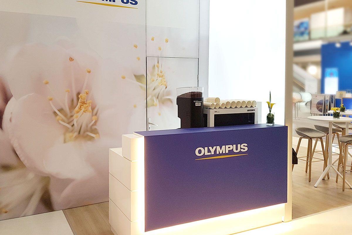 Messedesign Olympus Viszeralmedizin Munich