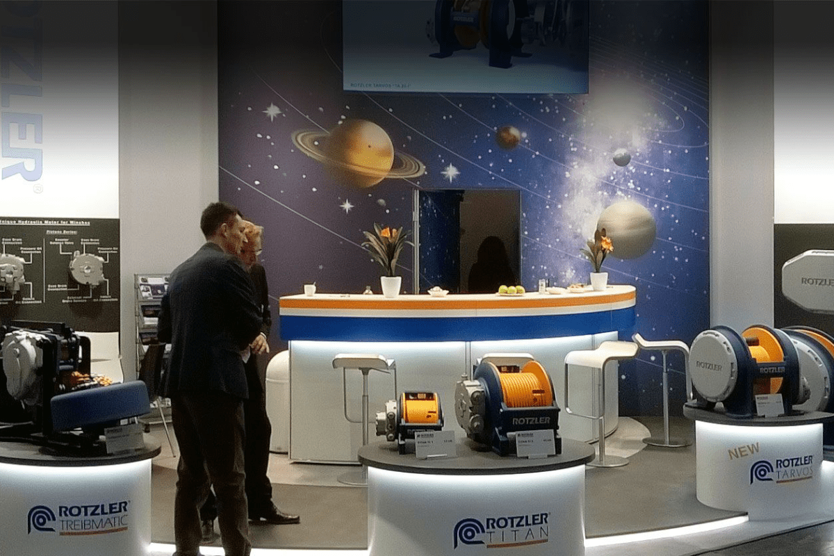 Exhibition stand Rotzler
