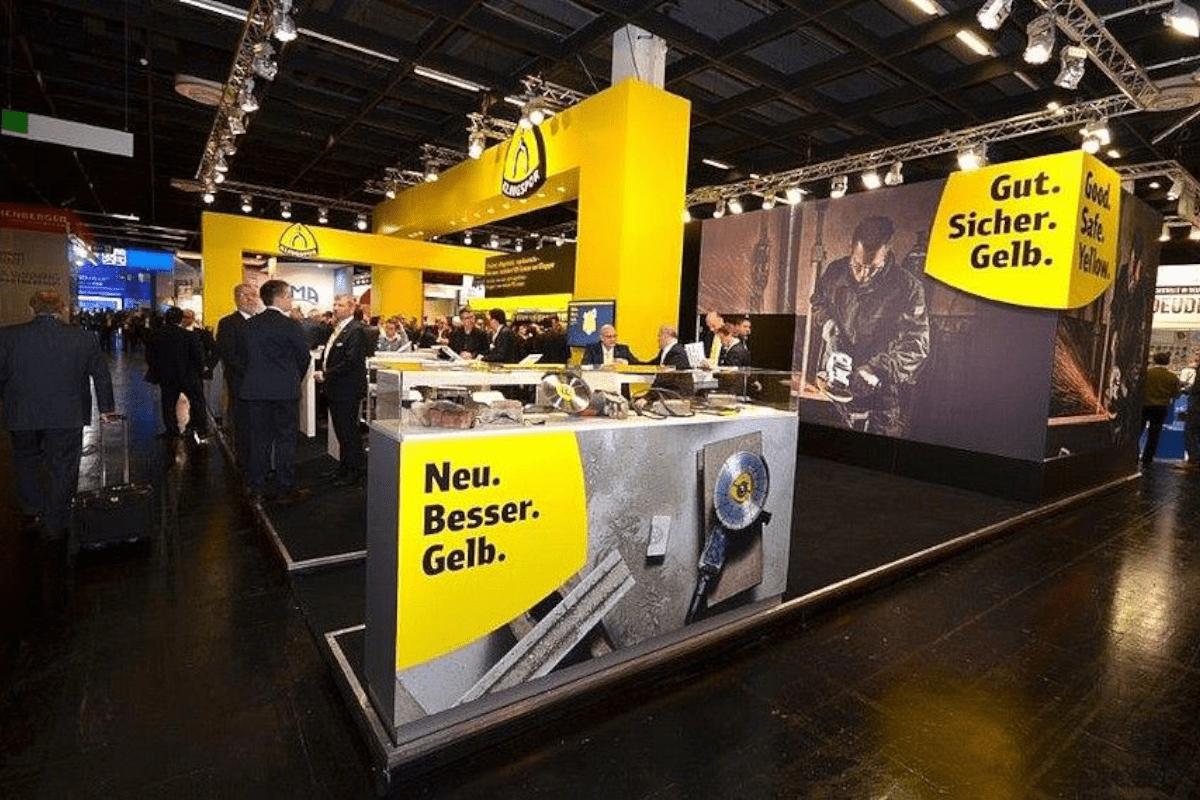 Standdesign Eisenwarenmesse Köln für Klingspor