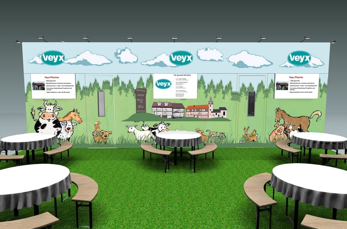 Veyx - Catering at the exhibition stand