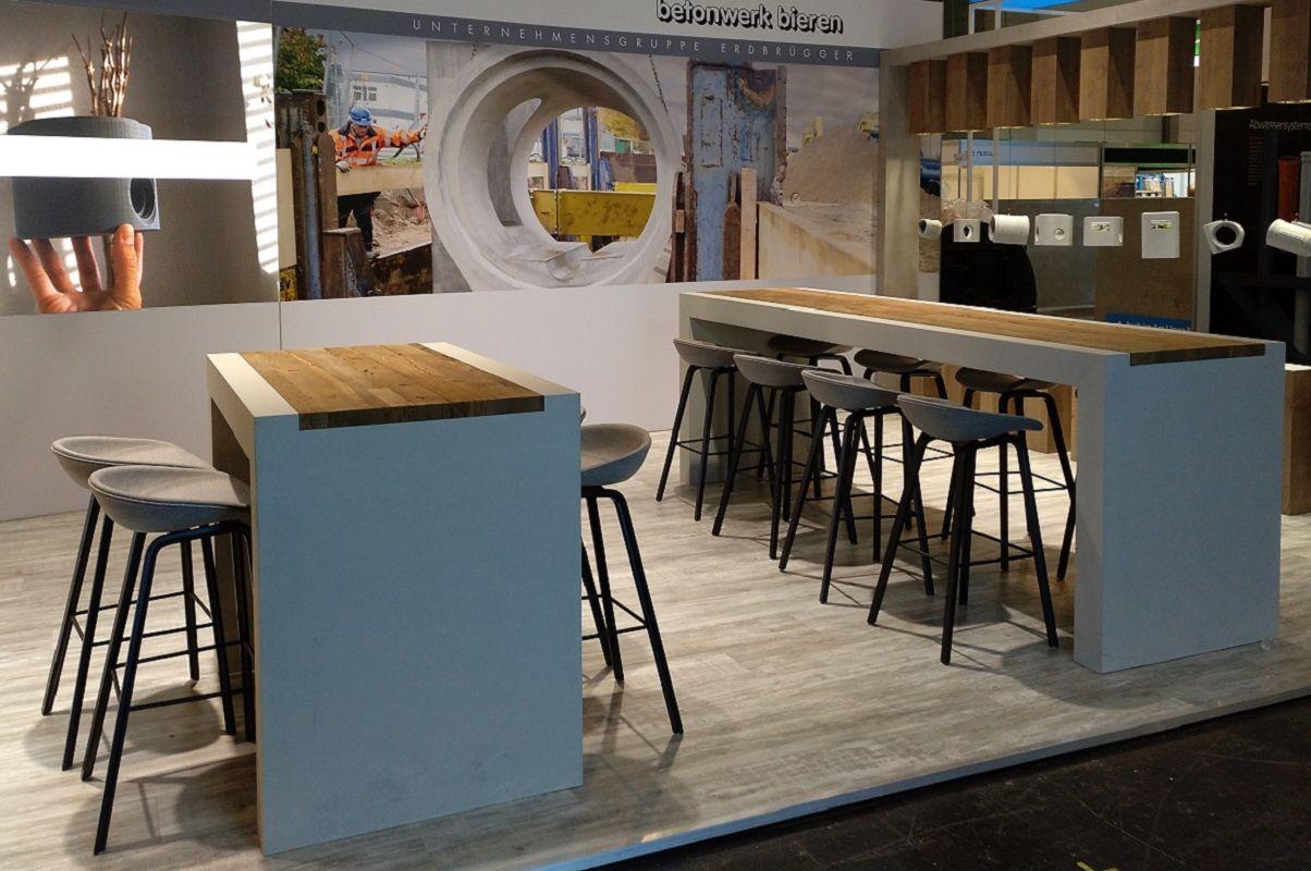 Exhibition stand concrete plant Bieren GmbH - Overview