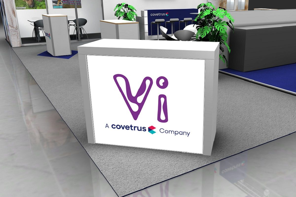 Exhibition counter for Covetrus