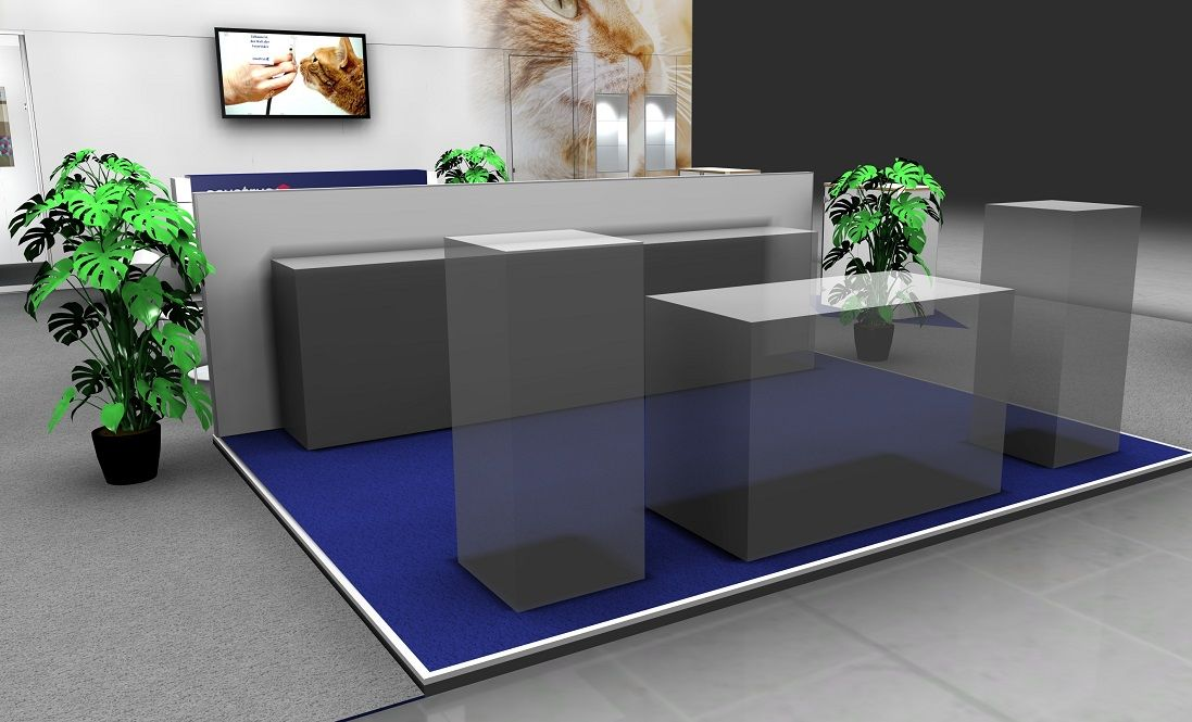 Covetrus Messestand Eingang