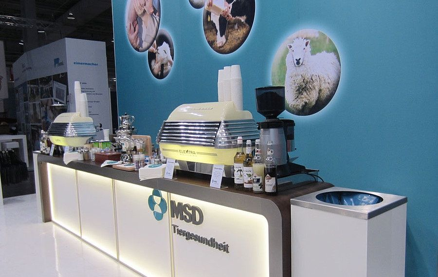 Exhibition Counter of MSD