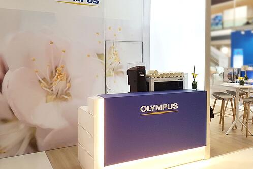 Exhibition Counter of Olympus