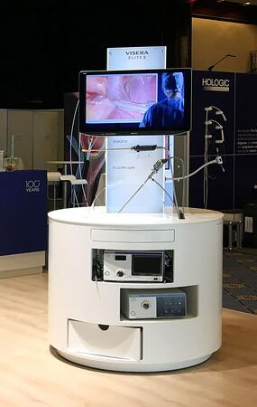 exhibition stand olympus