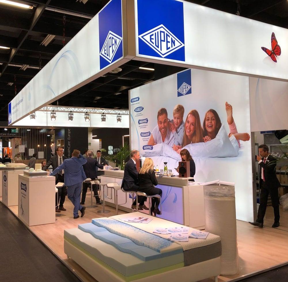 Exhibition stand Kabelwerk Eupen AG