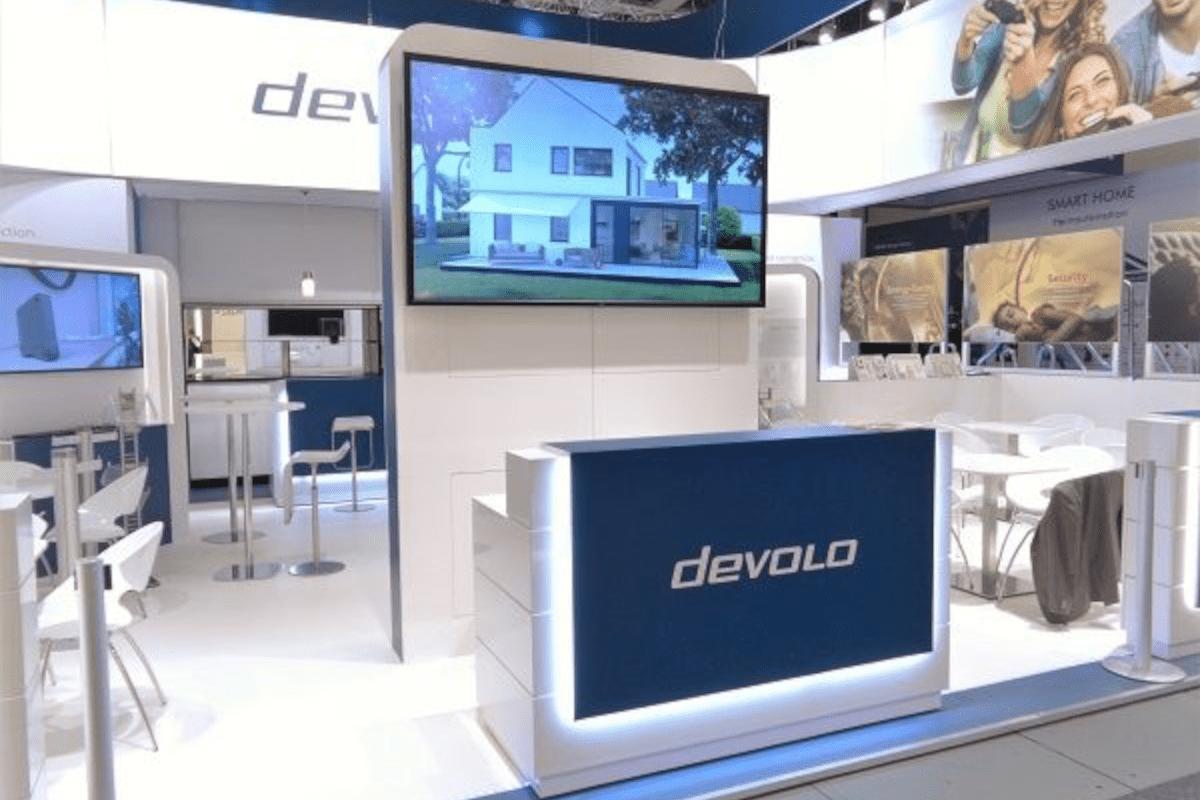 Individual trade fair construction for devolo