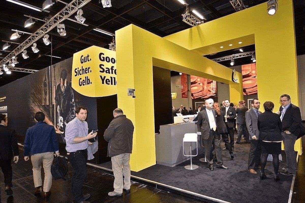 Exhibition design hardware fair for Klingspor
