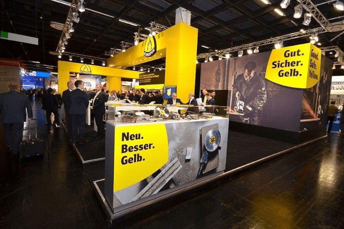 Stand design hardware fair Cologne for Klingspor