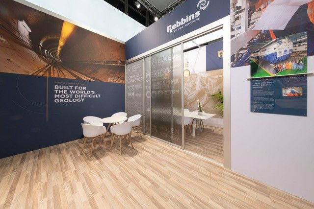 Robbins Exhibition Stand Meeting Room