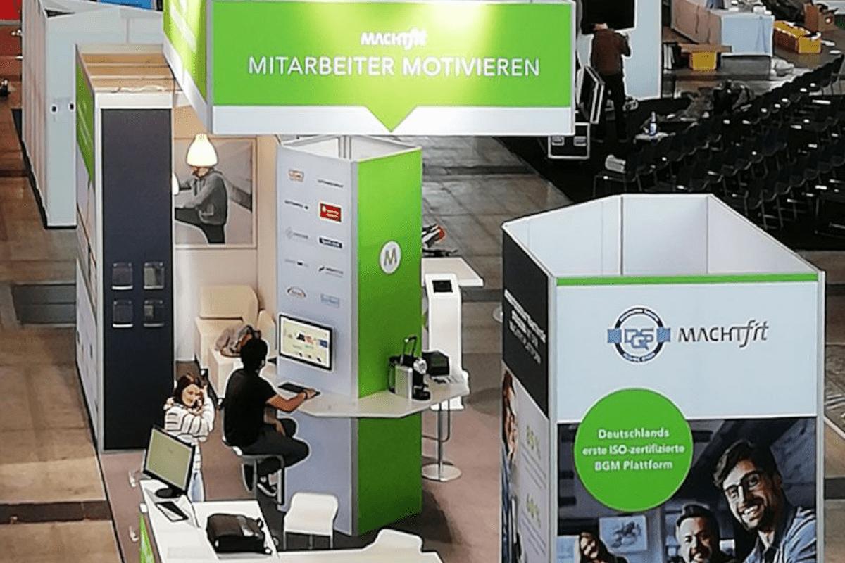 machtfit trade fair appearance CHC Stuttgart RocketExpo