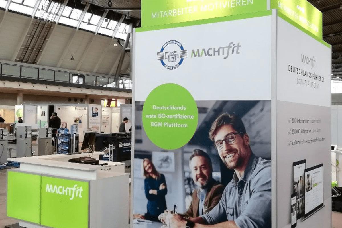 machtfit Messetheke CHC Stuttgart RocketExpo