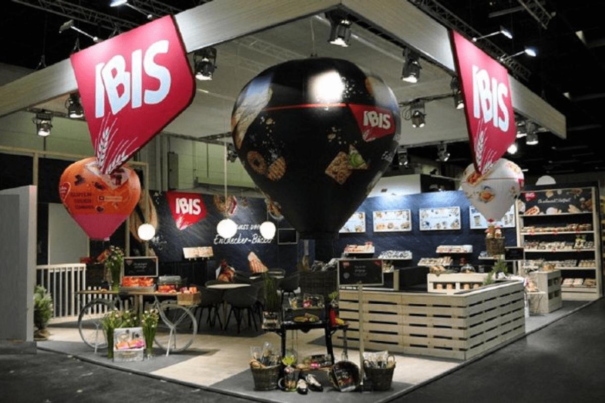 IBIS exhibition stand