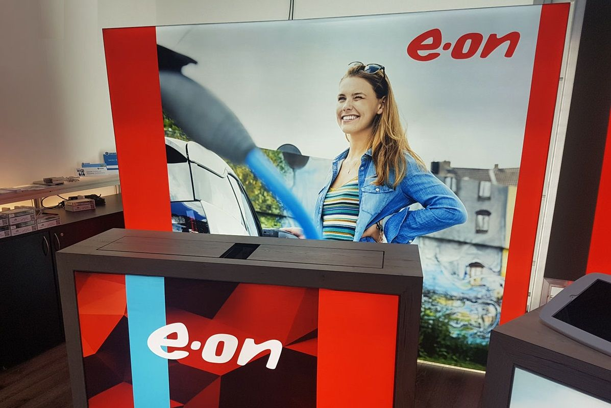 E.ON trade fair stand detail view