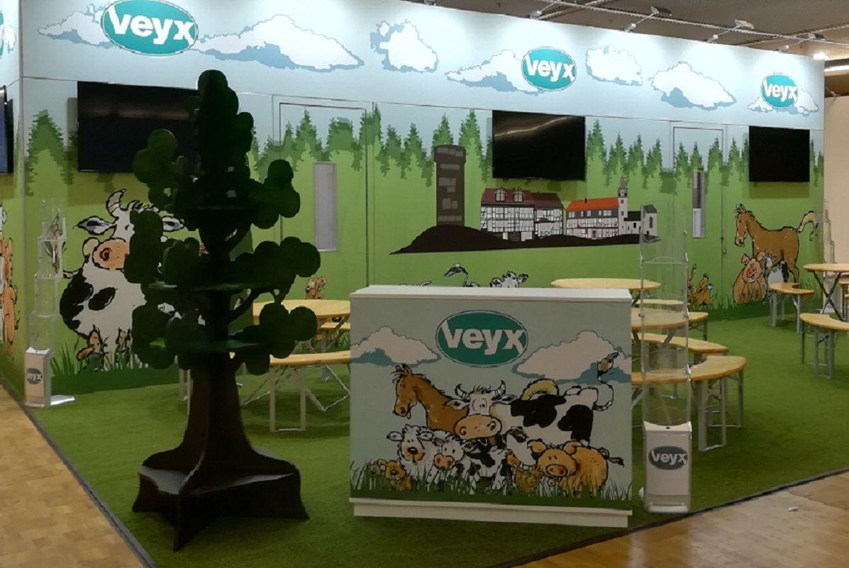 Physischer Messestand Veyx-Pharma GmbH