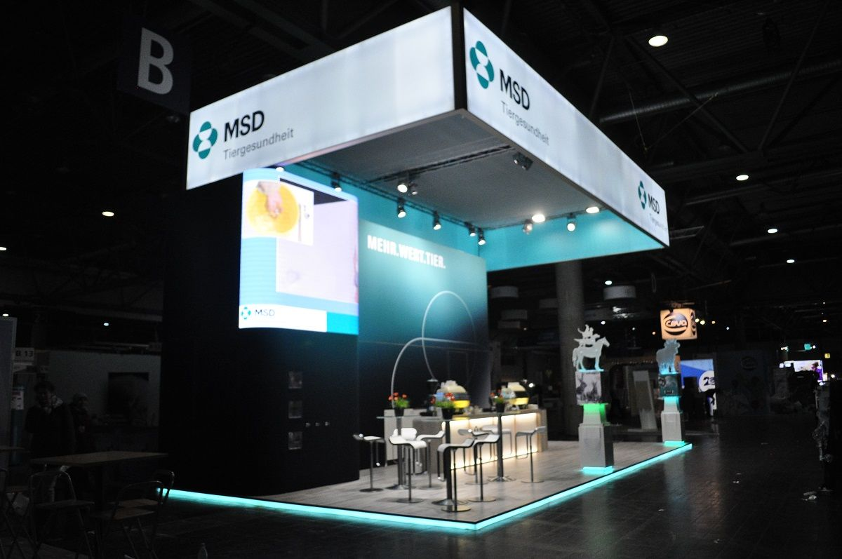 MSD exhibition stand