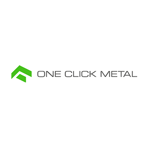 One Click Metal Logo Messeprojekt RocketExpo
