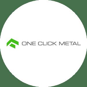 One Click Metal Logo Messeprojekt RocketExpo
