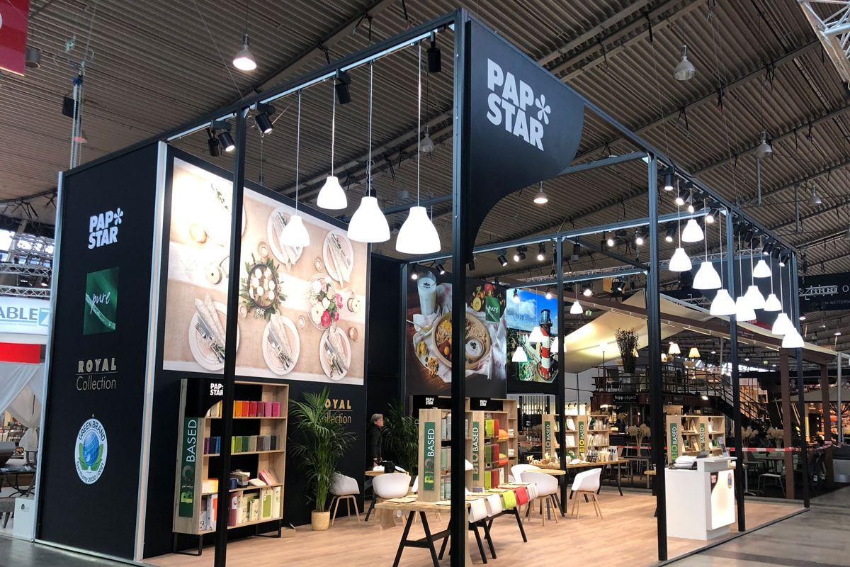 PAPSTAR Exhibition stand Intergastro Stuttgart