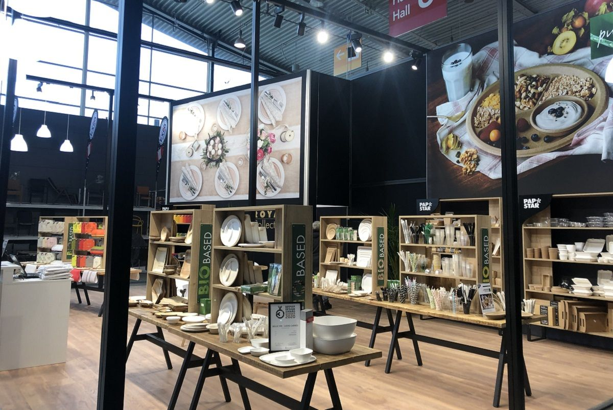 PAPSTAR Exhibition stand at Intergastro Stuttgart