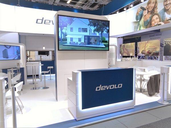 Booth construction IFA Berlin for devolo
