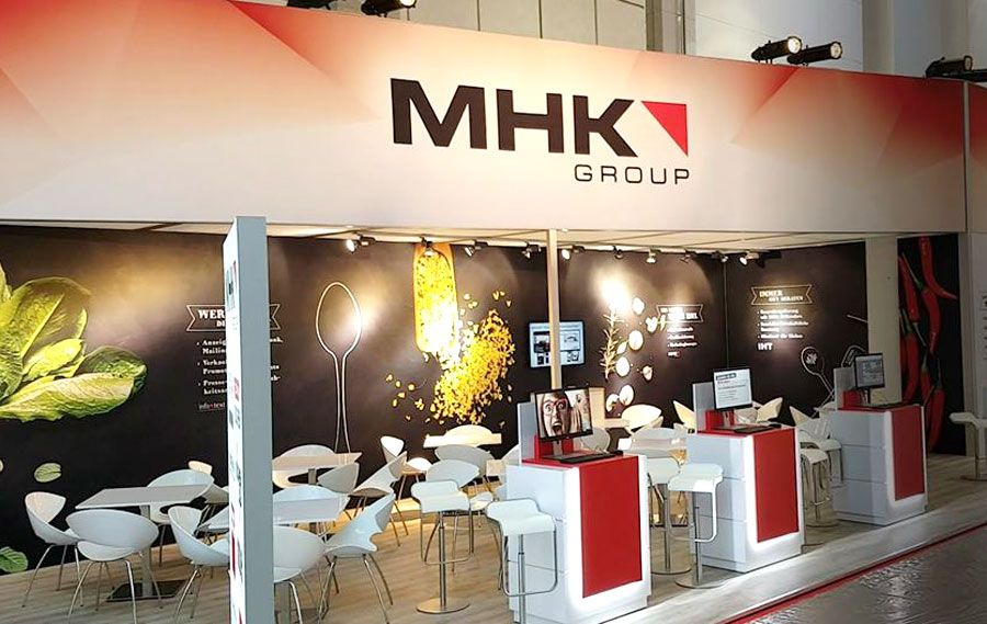 Booth construction RocketExpo IMM Cologne for MHK