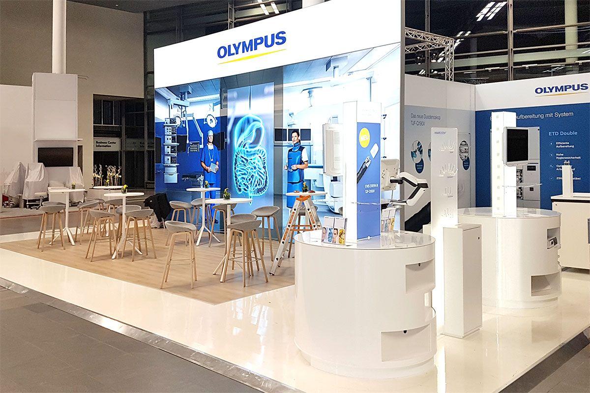 Exhibition Olympus Visceral Medicine Munich