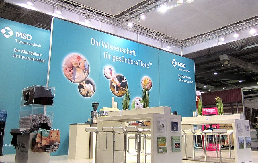Messedesign RocketExpo Eurotier Hannover MSD