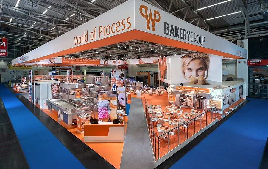 Exhibition design RocketExpo iba Munich for Werner and Pfleiderer
