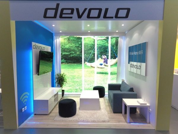 Exhibit design IFA Berlin for devolo