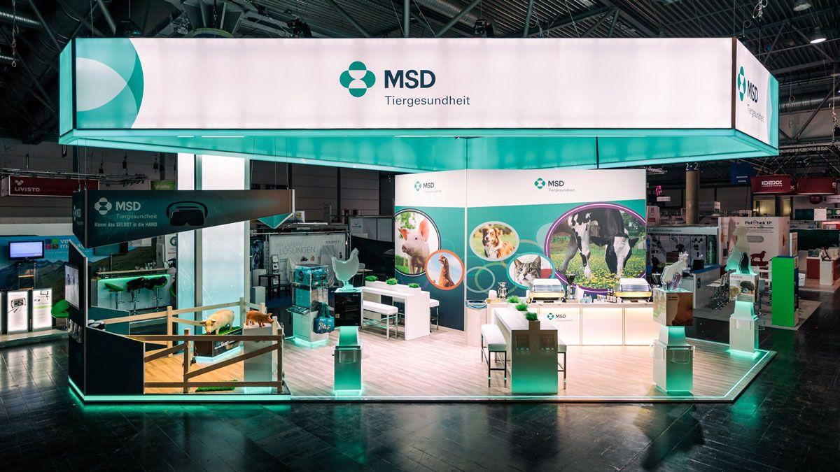 Messedesign TÄK Leipzig für MSD
