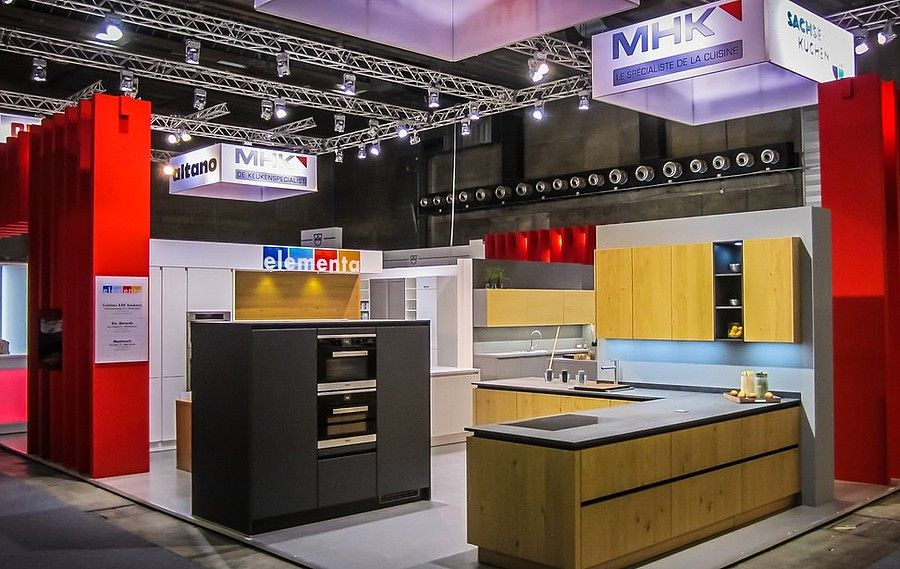 Exhibition concept RocketExpo Batibouw Brüssel for MHK