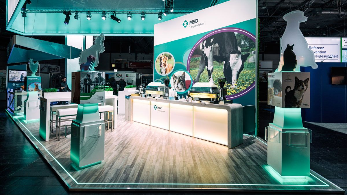 Exhibition concept RocketExpo TÄK Leipzig for MSD