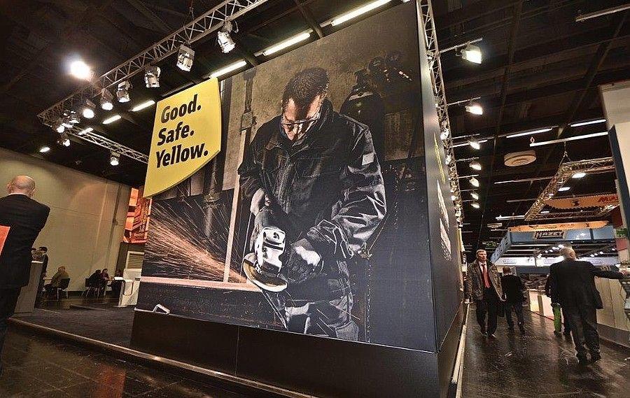Messestand Eisenwarenmesse Cologne für Klingspor