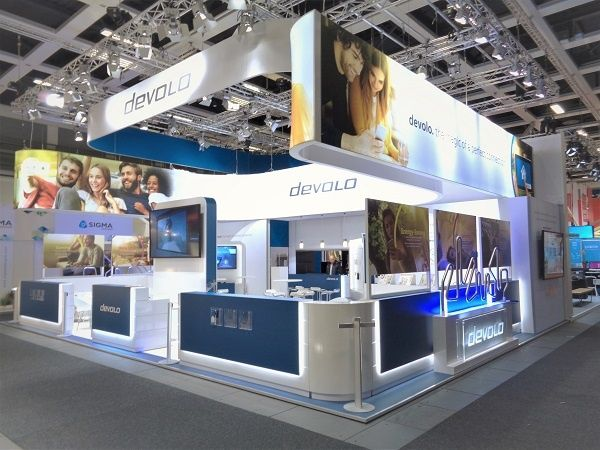 Messestand IFA Berlin für devolo
