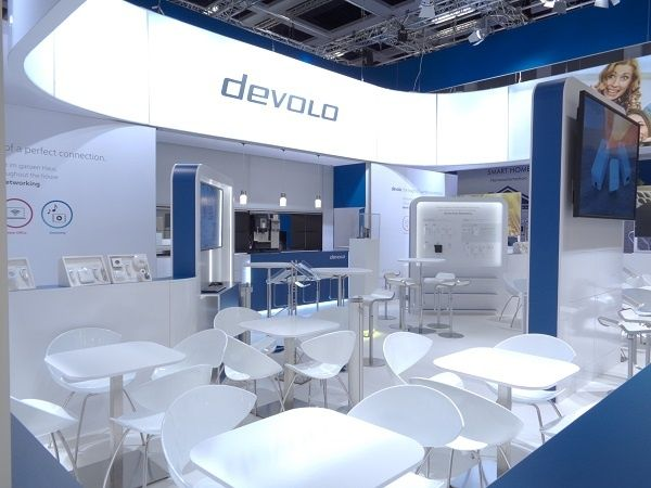 Booth construction IFA Berlin for devolo