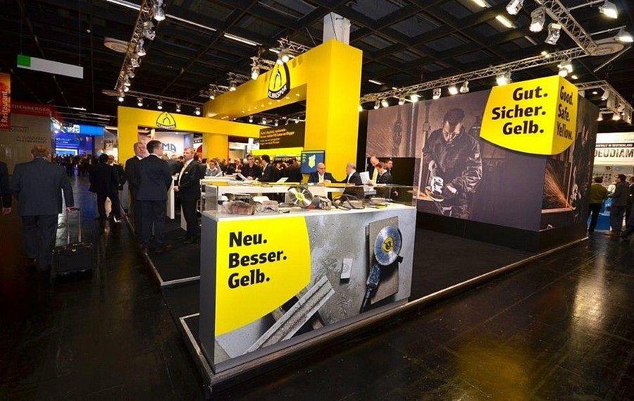 Standdesign Eisenwarenmesse Cologne für Klingspor