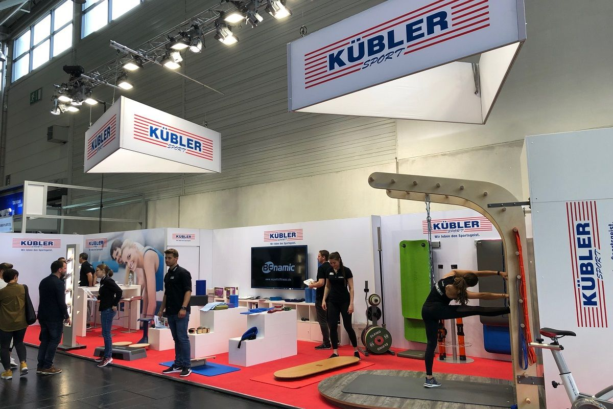 Exhibition design Fibo Cologne Kübler Sport