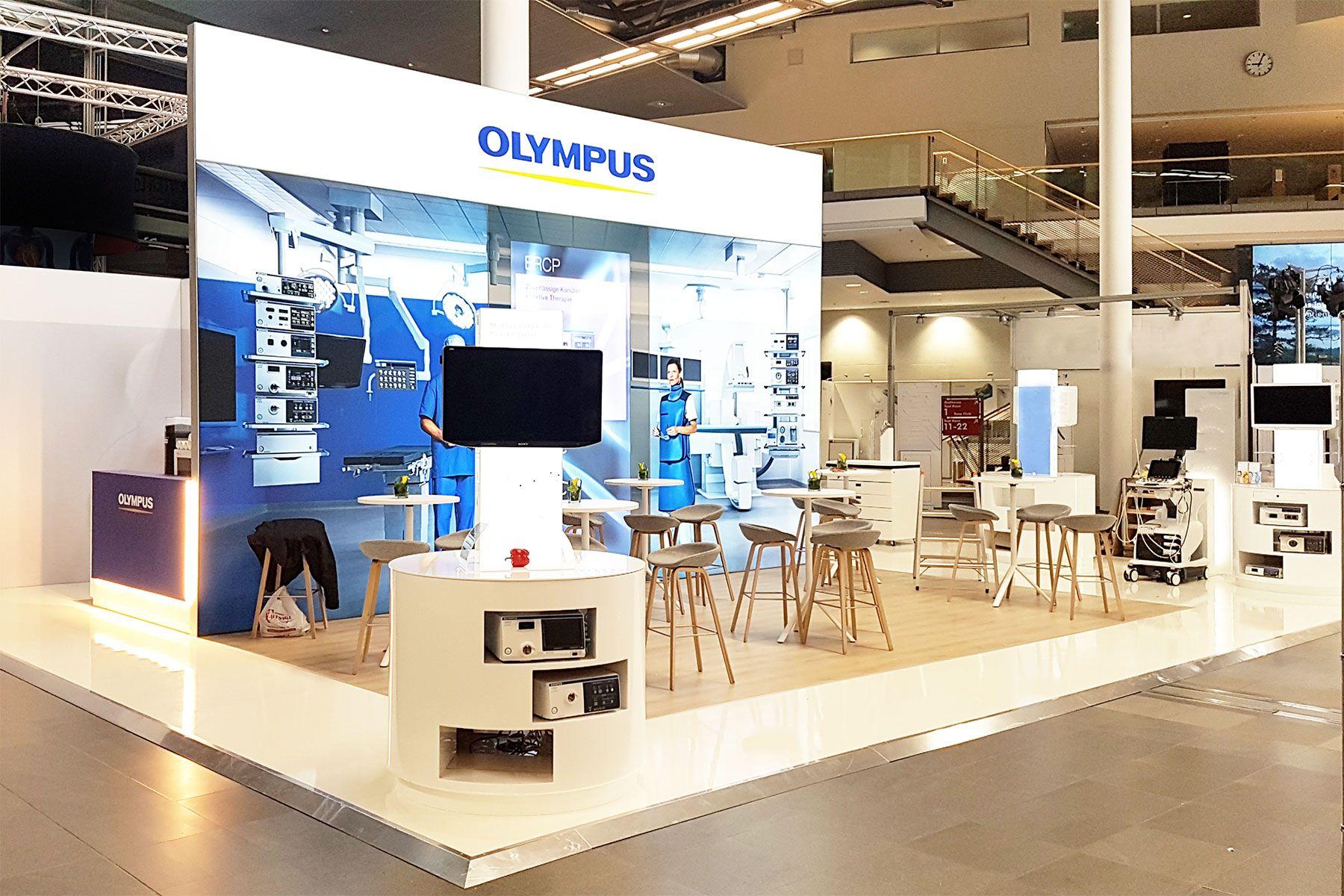 Exhibition design Olympus Visceral Medicine Munich
