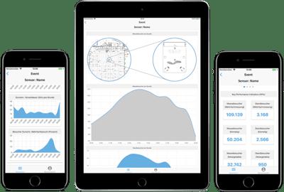 RocketExpo Event Metrics Besucheranalyse App