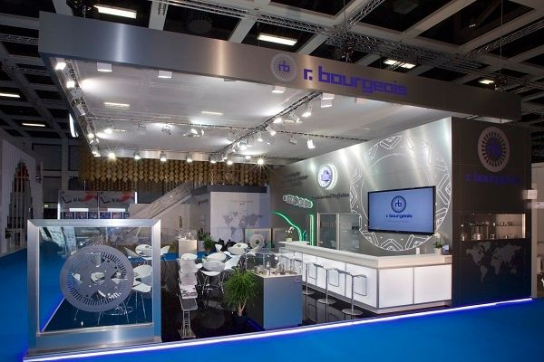 Exhibition stand r.bourgeois