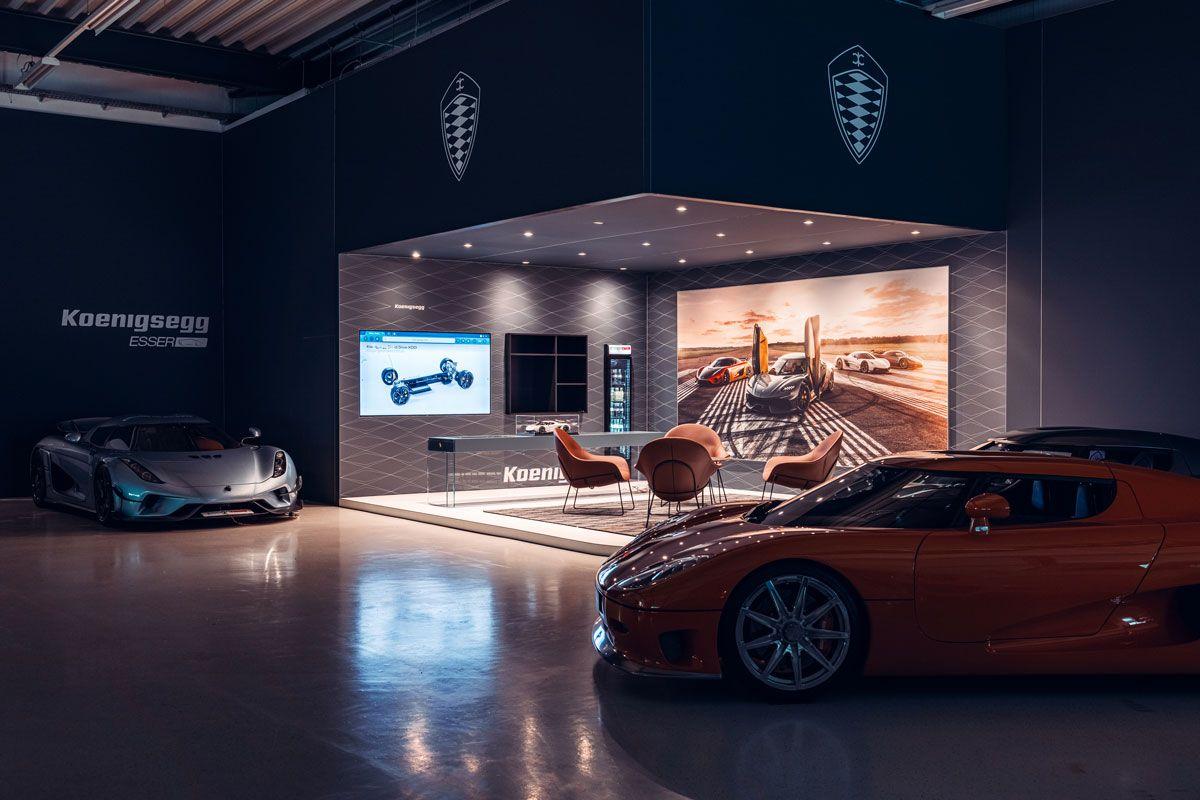 Showroom Esser for Premium Automotive Concept Esser