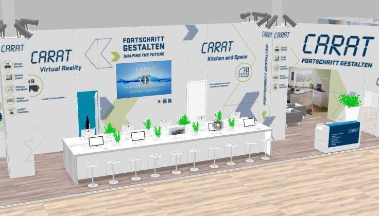 Virtual trade fai construction for carat
