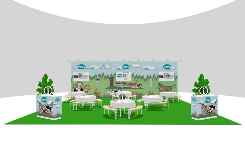 Virtuelle Messe - Beispiel Veyx-Pharma GmbH