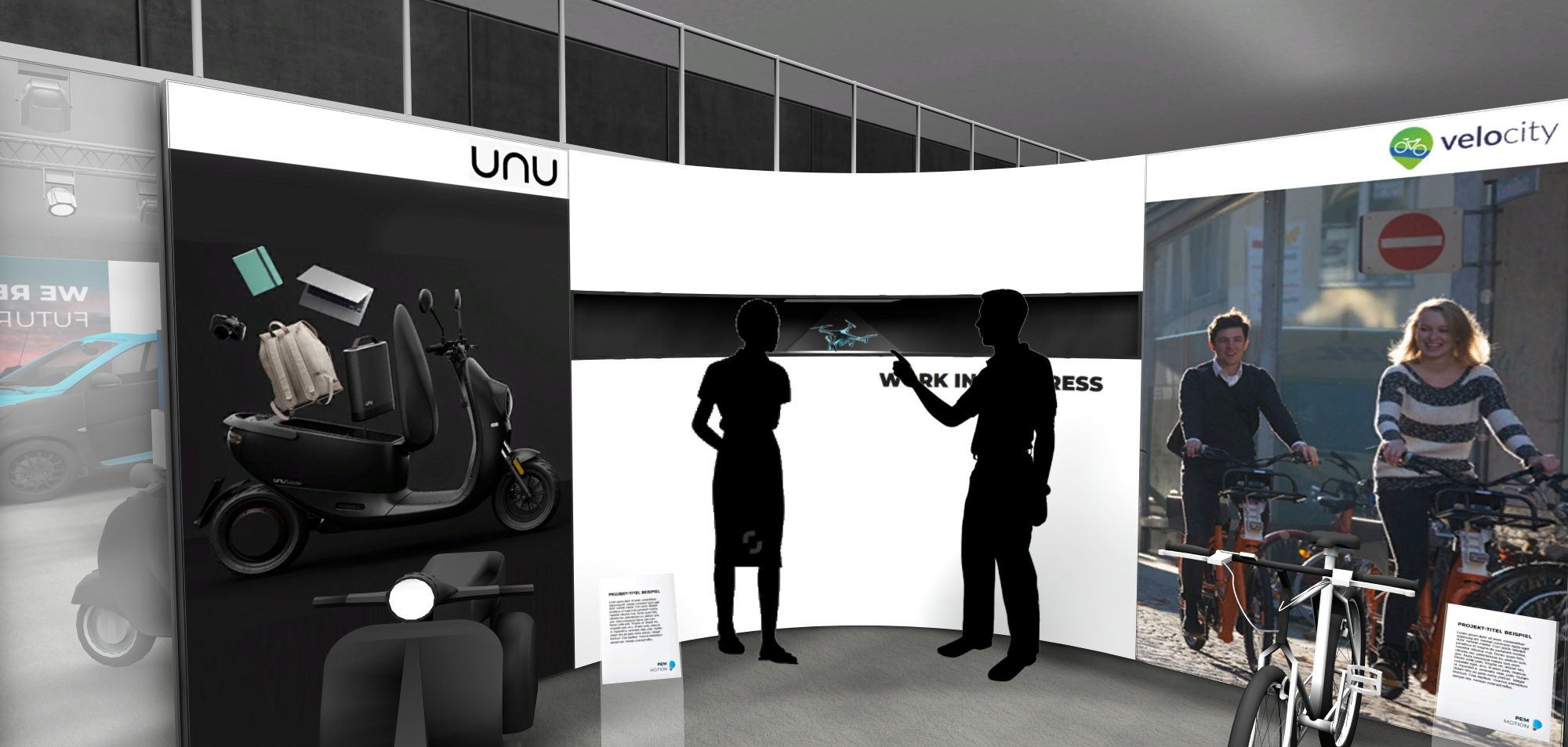 Multimedia-Integration bei Virtuellen Showrooms